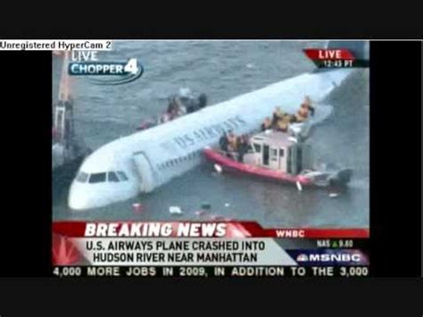 Pdf New York Plane Crash 2009 by 2009 New York City Plane Crash Live Us Airways Plane
