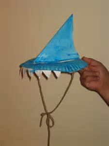How To Make A Paper Shark Hat - memory mitten craft winter craft ideas for from memes