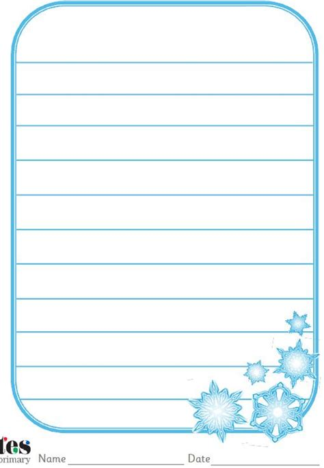 snowflake writing template 1000 images about ideas for literacy on