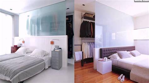 bett kleiderschrank offene garderobe hinter bett layout