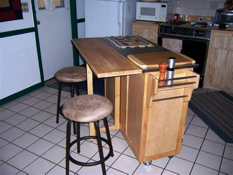 portable kitchen islands with breakfast bar home