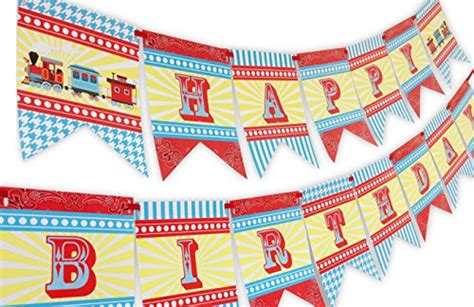 buy special toys train party happy birthday banner on