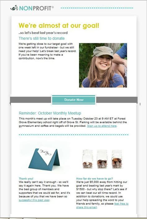 1000 Images About Email Templates From Constant Contact On Pinterest Newsletter Templates My Donor Newsletter Template