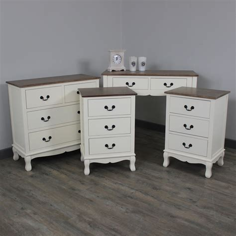 bedroom console table furniture bundle console table chest drawers bedside white