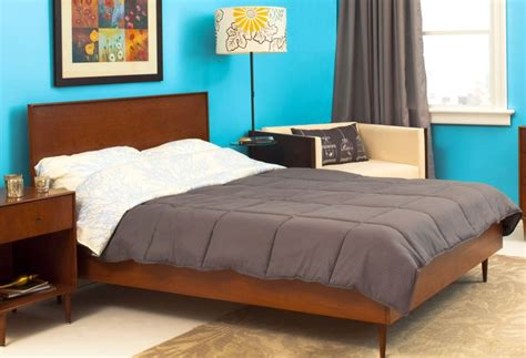 mid century modern queen bed mid century modern queen bed frame image is loading