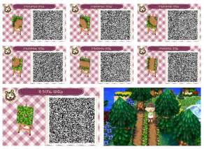 animal crossing paths and qr codes on