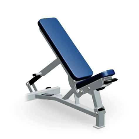 adjustable fitness bench multi adjustable bench pro style fwmab life fitness