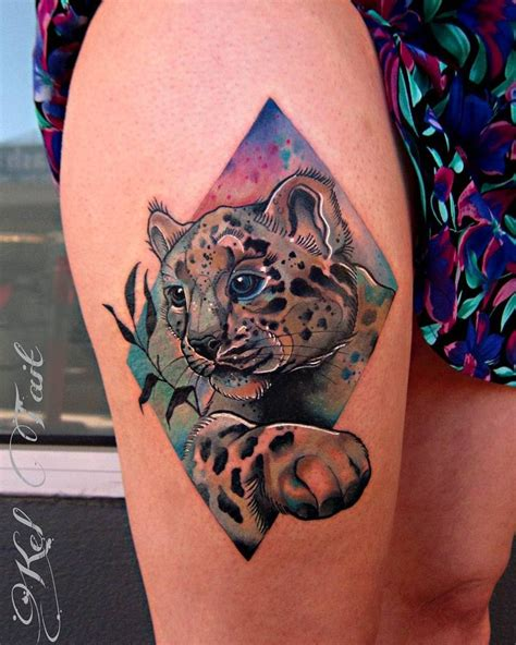 snow tiger tattoo designs collection of 25 snow leopard guardian design