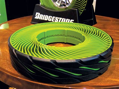 Bridgestone Airless Tires by Bridgestone Shows Airless Tires You Never To
