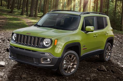 jeep lineup 2016 jeep lineup adds 75th anniversary edition for all models