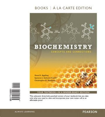 biochemistry concepts and connections books a la carte