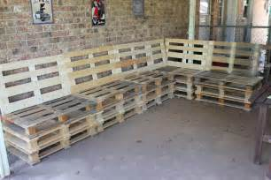 How To Build Pallet Patio Furniture Diy Outdoor Patio Furniture From Pallets