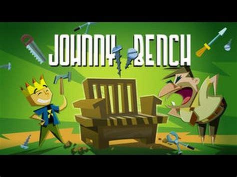johnny test bench johnny test johnny bench youtube