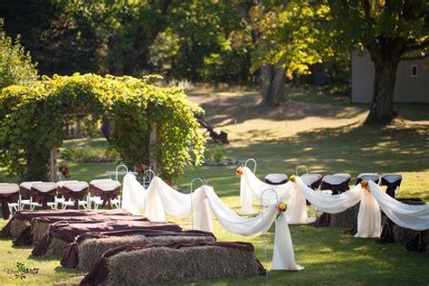 backyard fall wedding outdoor fall wedding wren photography