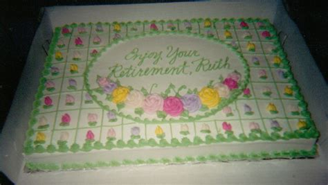 Retirement Cake Decorations by Pin Retirement Cakesjpg Cake On