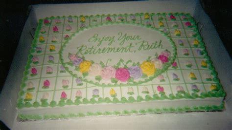 Retirement Cake Decorations by Pin Retirement Cakesjpg Cake On