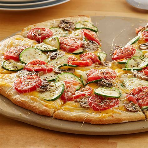pampered chef vegetable pizza recipes