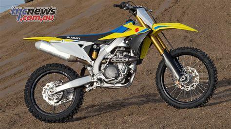 Suzuki Rm 450 by 2018 Suzuki Rm Z450 Review Motorcycle Test Mcnews Au