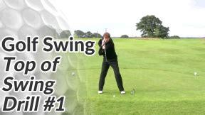 fundamental golf swing top of golf swing drill 1 free online golf tips