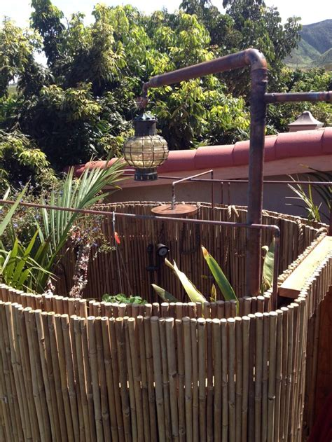 outdoor bamboo shower 17 best images about bamboo outdoor showers on