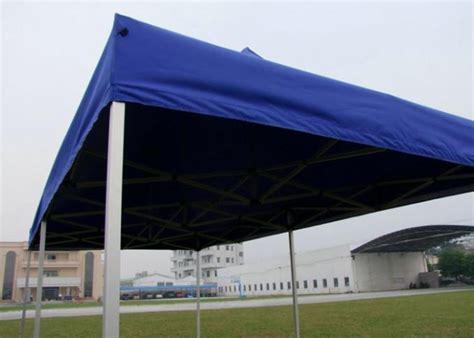 blue canvas pop up gazebo 3x6 portable 3m x 6m