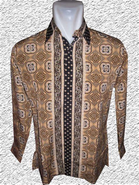 Sale Baju Kaos Pria Lengan Pendek batik model hem pria lengan pendek rc452 bed