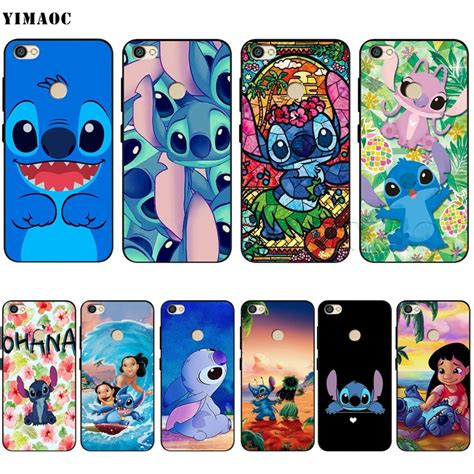 Xiaomi Redmi 4a Stitch yimaoc lilo stitch soft silicone for xiaomi