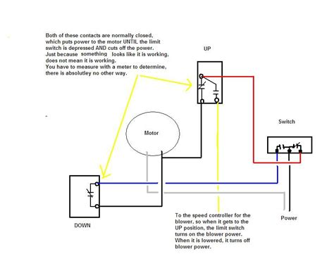 wiring diagram  dacor erv downdraft vent