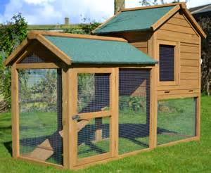 Rabbit Hutch Company The Manor 6ft Extra Large Rabbit Hutch Outdoor Rabbit