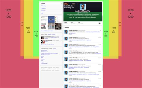 twitter layout tutorial twitter background template psd 2014 1920 x 1200