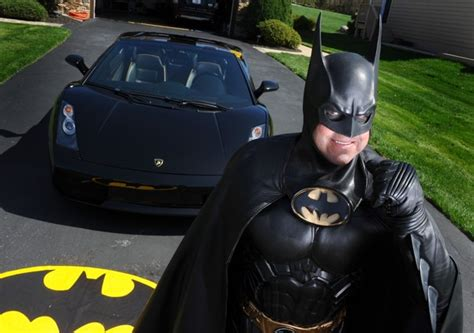 the real batman a hero for kids with cancer pu