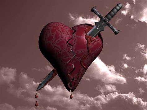 imagenes de corazones con una rosa clavada banco de imagenes y fotos gratis corazones rotos parte 4