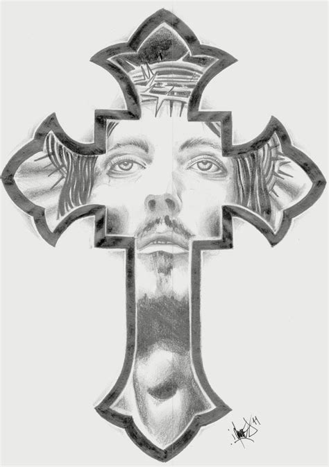 cross tattoos with jesus inside cross cross productos que adoro