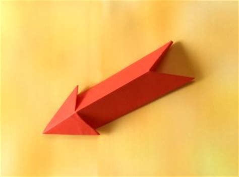 How To Make A Origami Bow And Arrow - joost langeveld origami page