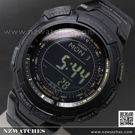 Casio Prg 110 1v Tough Solar buy casio protrek tough solar sensor blackout sport