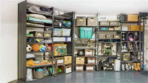 cabinets shelving how to organize a small blue ladies garage wall storage ideas with space organization 2