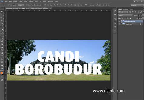 tutorial desain grafis tulisan tutorial cara membuat gambar berbentuk tulisan di