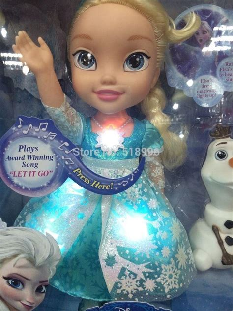dolls that light up newest my frist frozen elsa doll light up sing glow