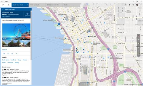 maps view new features in windows 10 maps app windows experience