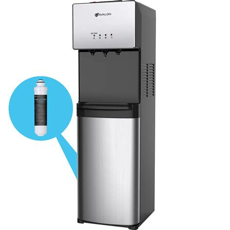 vitapur top load cold and room temperature water dispenser