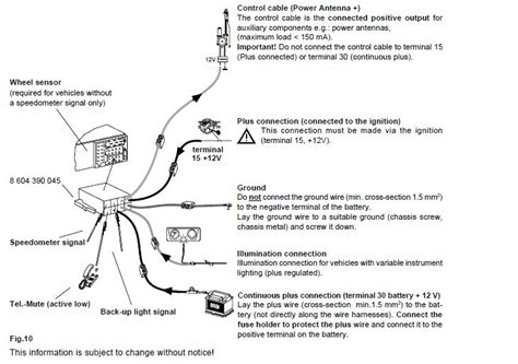 8 pin satellite radio connector diagram wiring schematic
