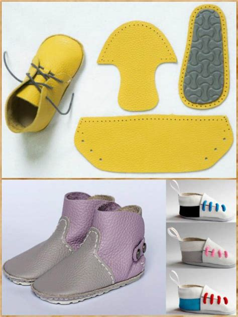 Handmade Shoes Tutorial - 55 diy baby shoes with free patterns and tutorials diy