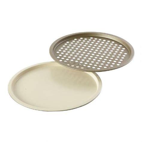 Crisper Pizza Pan 36 Cm non stick ceramic 10 quot pizza pan and crisper set tree shops andthat
