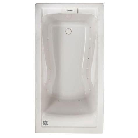 american standard evolution bathtub american standard evolution 5 ft acrylic rectangular drop in air bath bathtub in