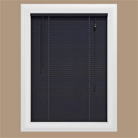 Blinds Home Depot by Bali Cut To Size Black 1 In Blackout Vinyl Mini Blind