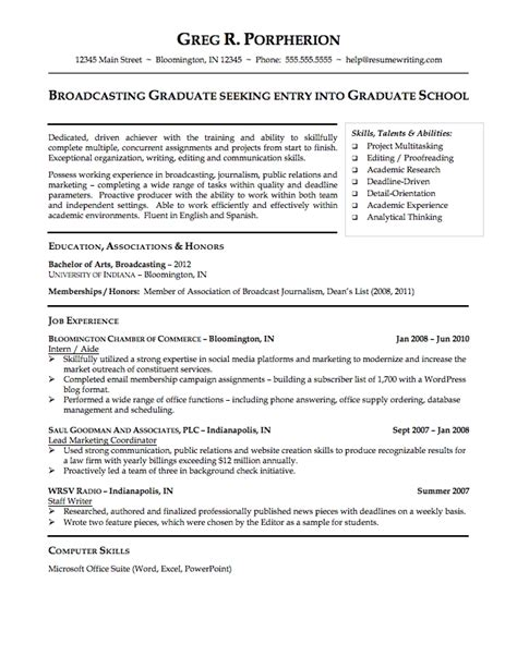 student resume format sle resume for graduating college student best resume collection