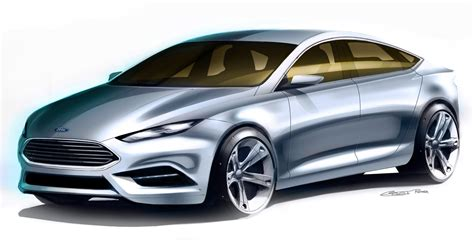 future ford taurus ford advanced design sketches may show direction of 2016