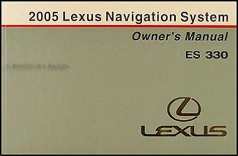 lexus es330 maintenance schedule 2005 lexus es330 maintenance manual
