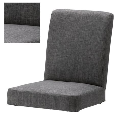 gray chair slipcover ikea henriksdal skiftebo chair slipcover cover 21 quot 54cm