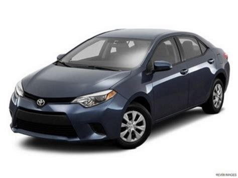 2016 Toyota Corolla Specs 2016 Toyota Corolla S 4dr Sedan Specifications Features